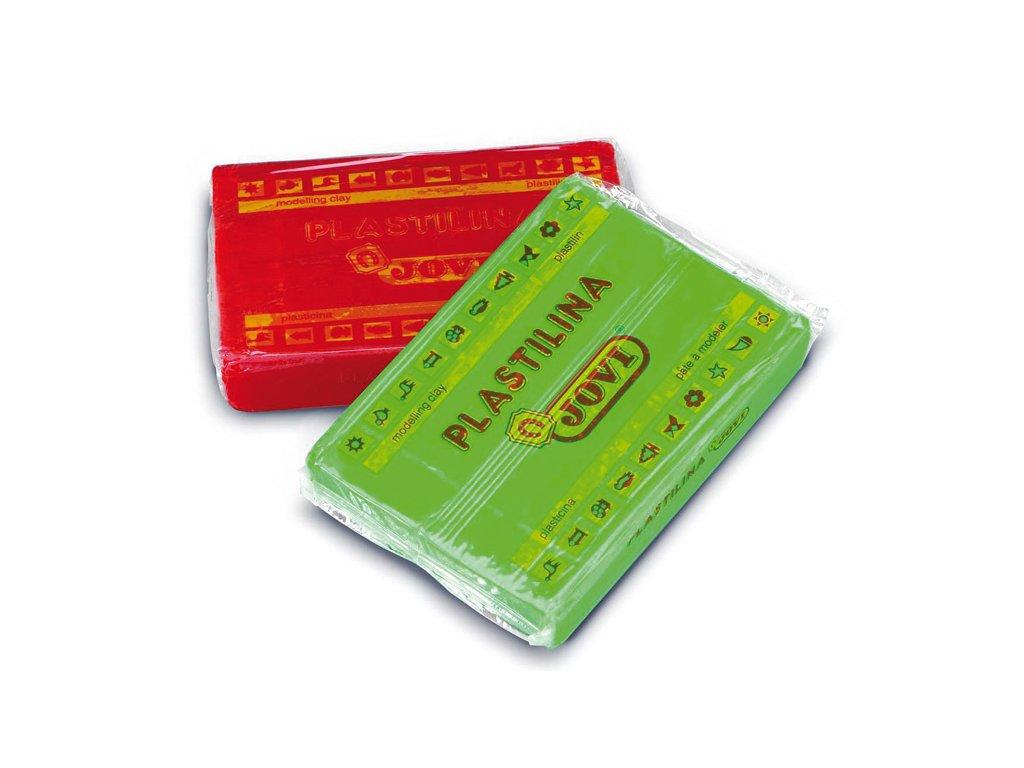 Plastelína JOVI - 350 g / červená