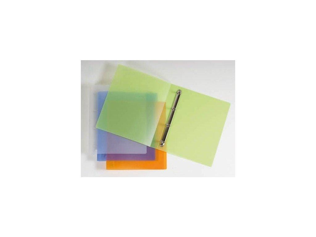 Desky A4 kroužkové Opaline - 4 - kroužek / fialová