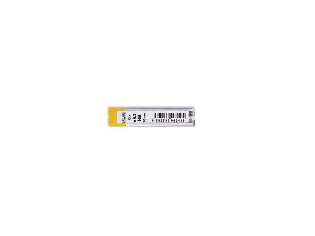 Tuhy do mikrotužek KOH-i-NOOR - 0,3 mm / HB