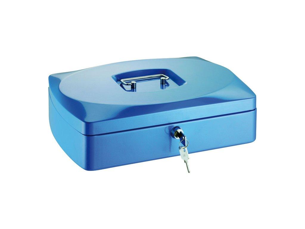 Pokladny - modrá / 90 mm x 235 mm x 330 mm