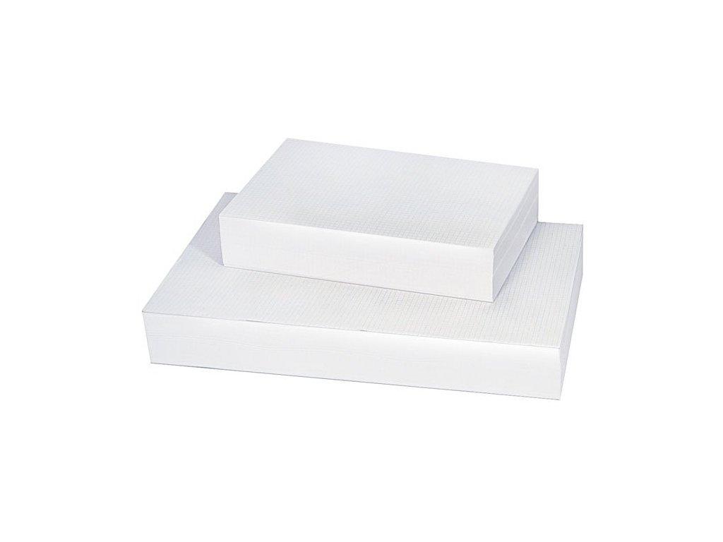 Kreslicí karton - formát A4 / čtvereček