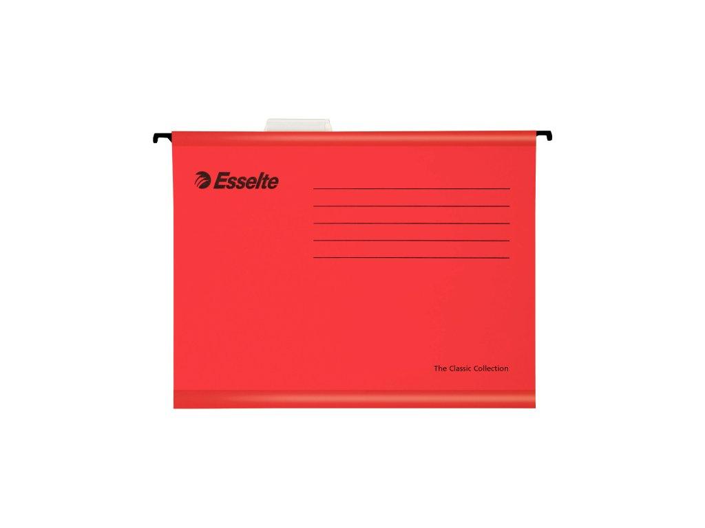 Závěsné desky Esselte Classic Collection - červená