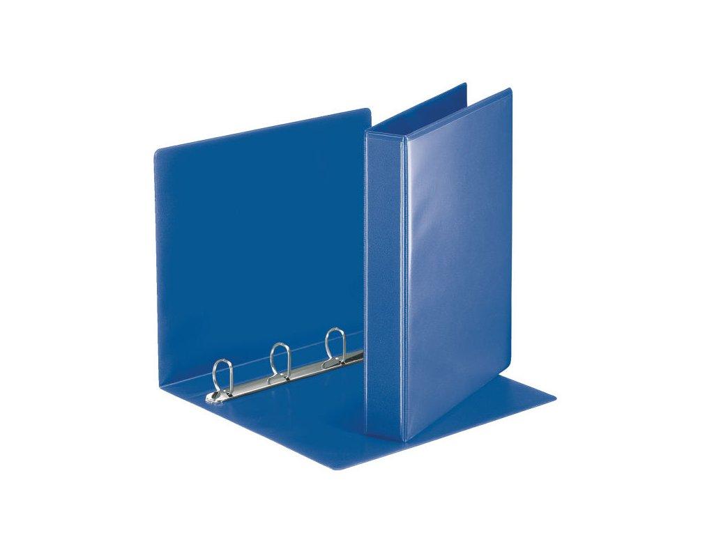 Pořadač A4 kroužkový prezentační - hřbet 5,1 cm -4 - kroužek / modrá