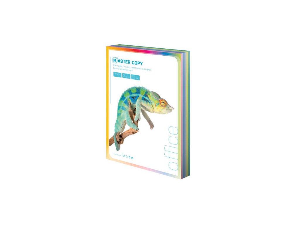Barevné papíry A4 80 g - světlá duha / 500 listů / barevný mix