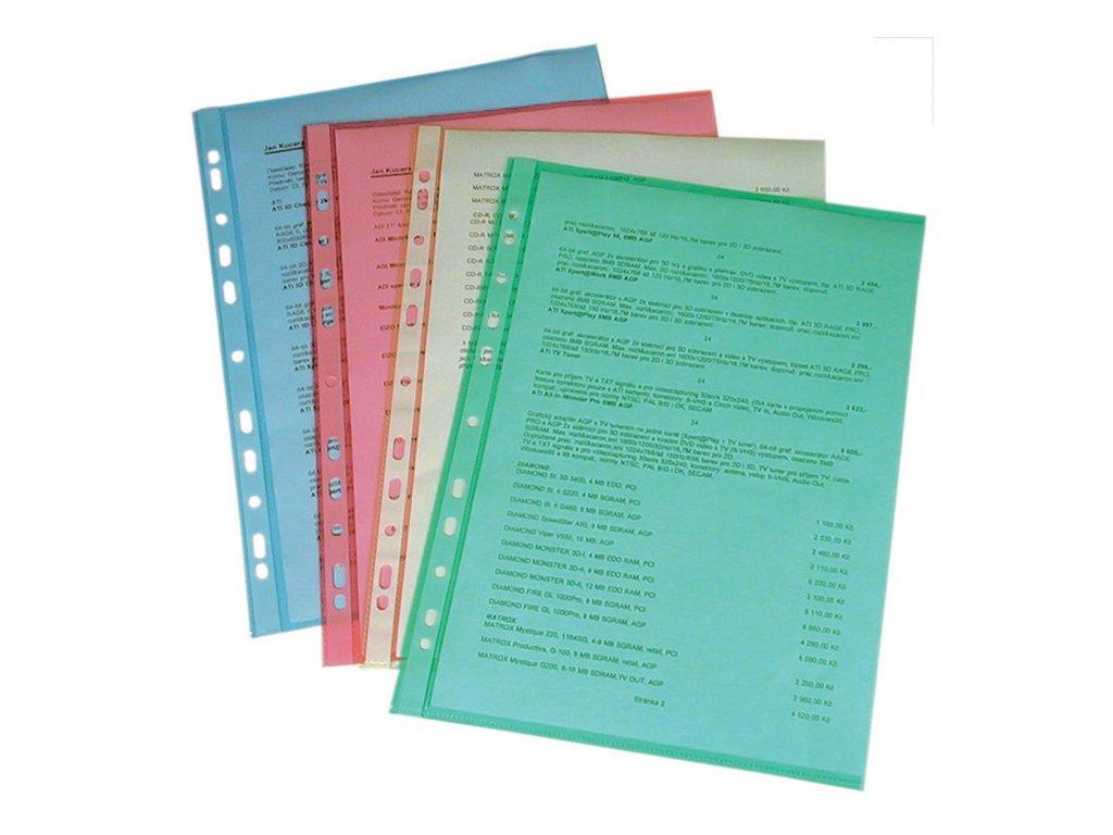 Závěsný obal A4 Copy barevný - A4 / zelená / 100 ks