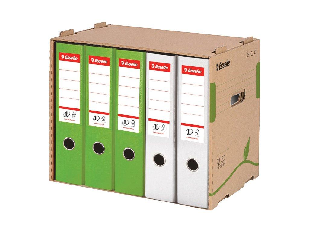 Archivní kontejnery Esselte ECO - na pořadače