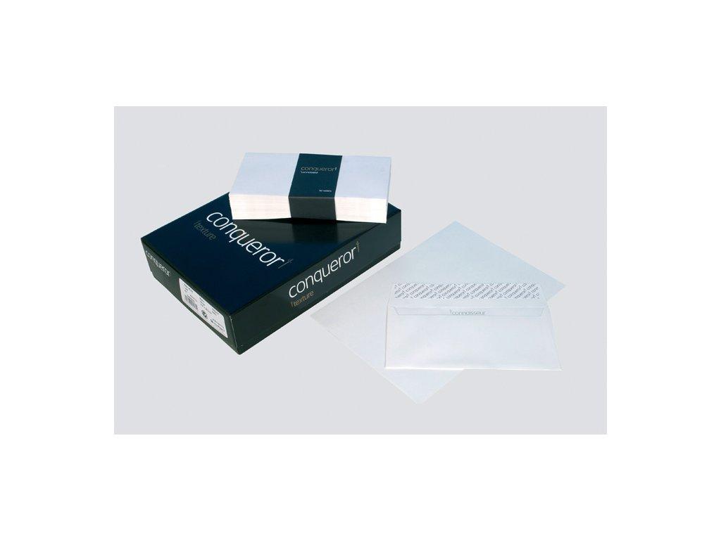 Obálky Conqueror žebrované - obálka DL krémová / 500 ks