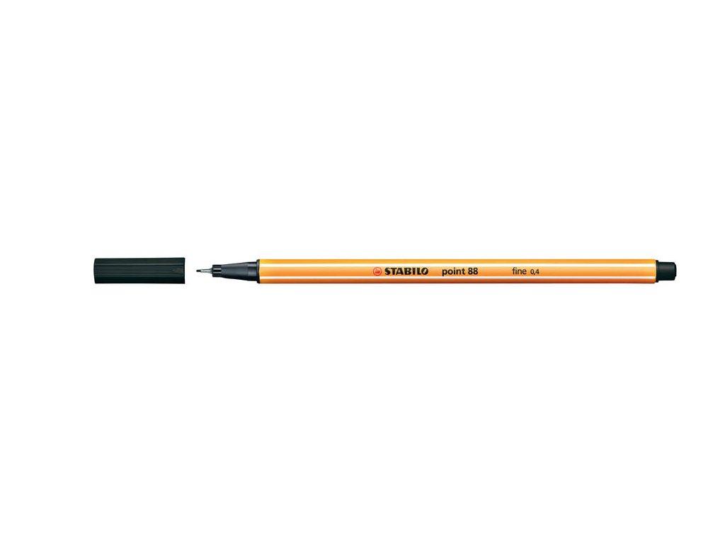 Liner STABILO point 88 - černá