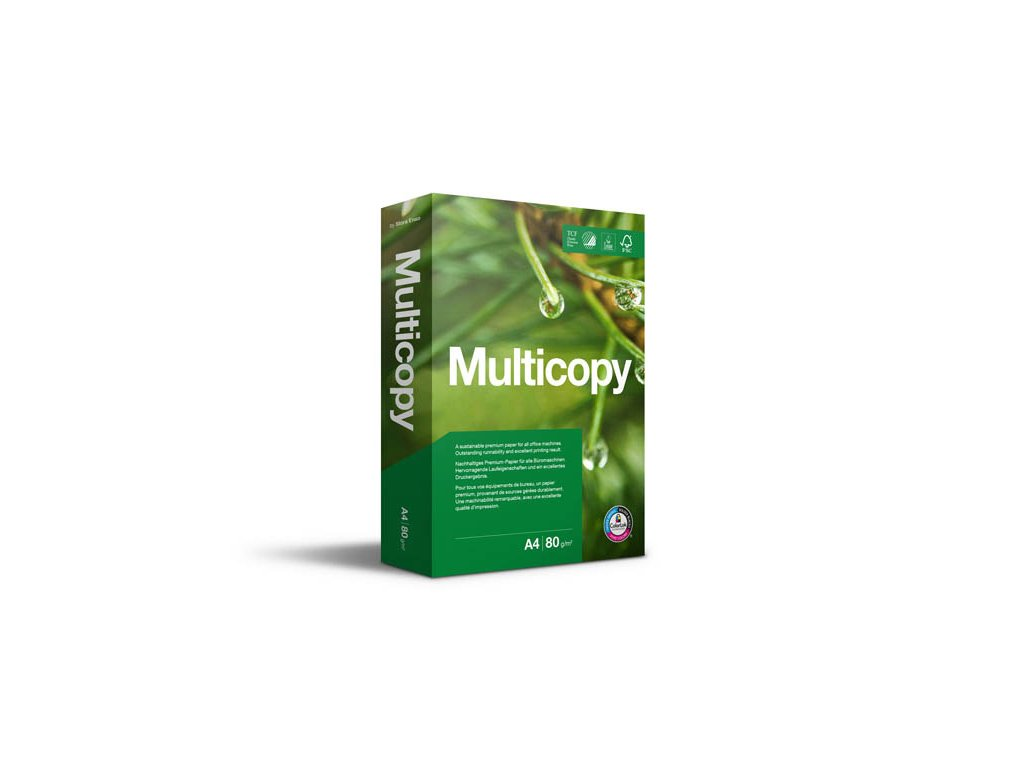 Xerografický papír Multicopy - A4 160 g / 250 listů