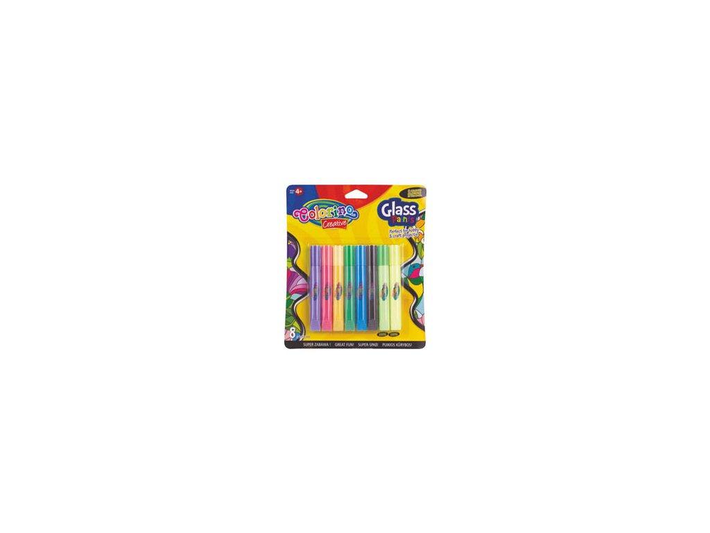 Barvy na sklo Colorino - 8 barev