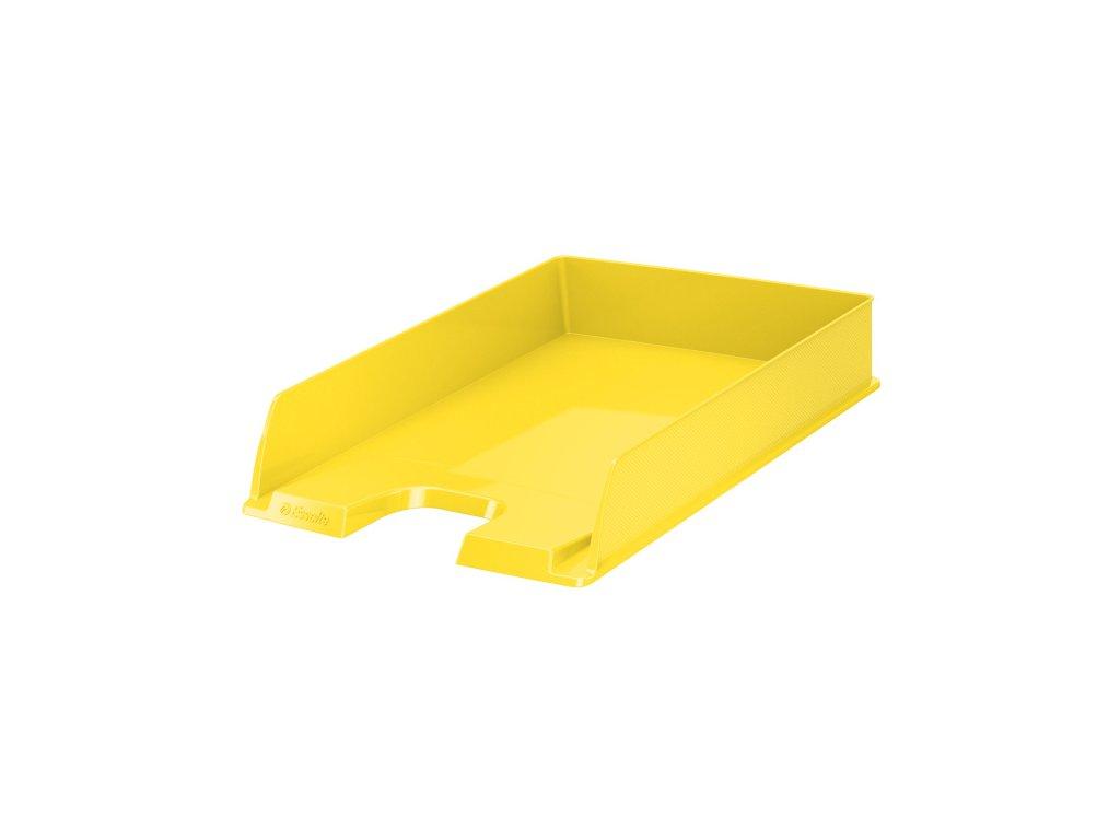 Kancelářský box na spisy Europost Vivida - žlutá