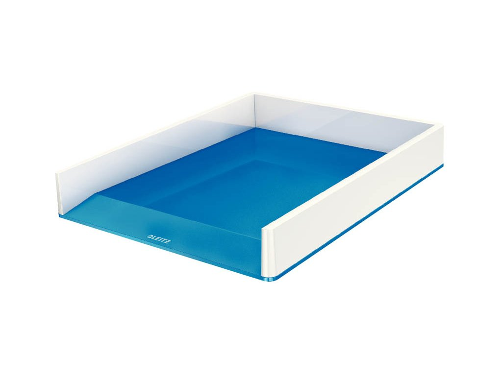 Kancelářský box Leitz WOW - modro-bílá