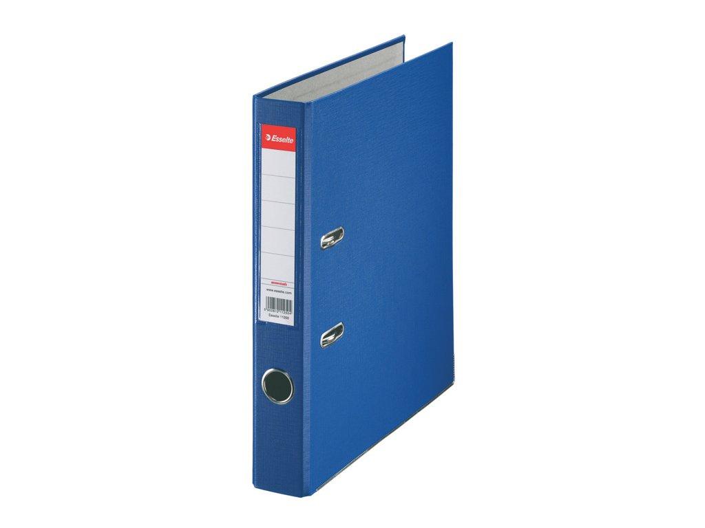 Pořadač A4 pákový polypropylen Economy - hřbet 5 cm / modrá