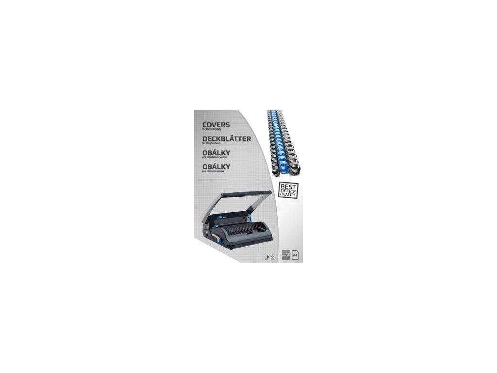 Desky pro kroužkovou vazbu zadní strana - A4 / bílá / 100 ks
