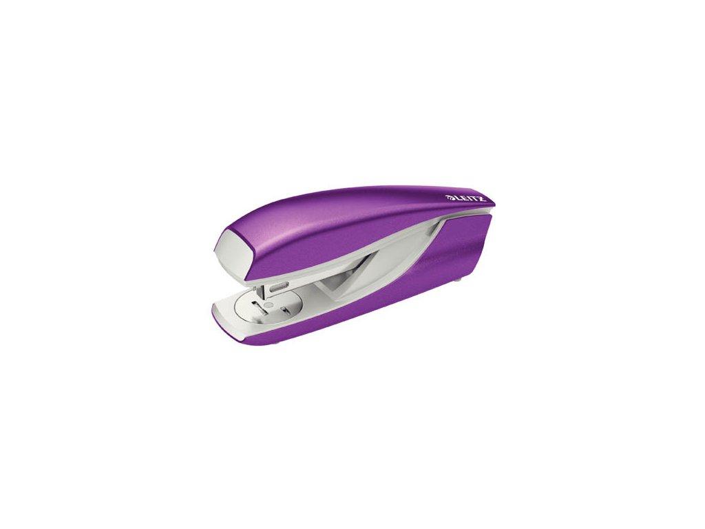 Kancelářský sešívač Leitz 5502 - metalická fialová