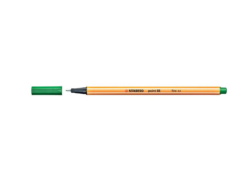 Liner STABILO point 88 - zelená