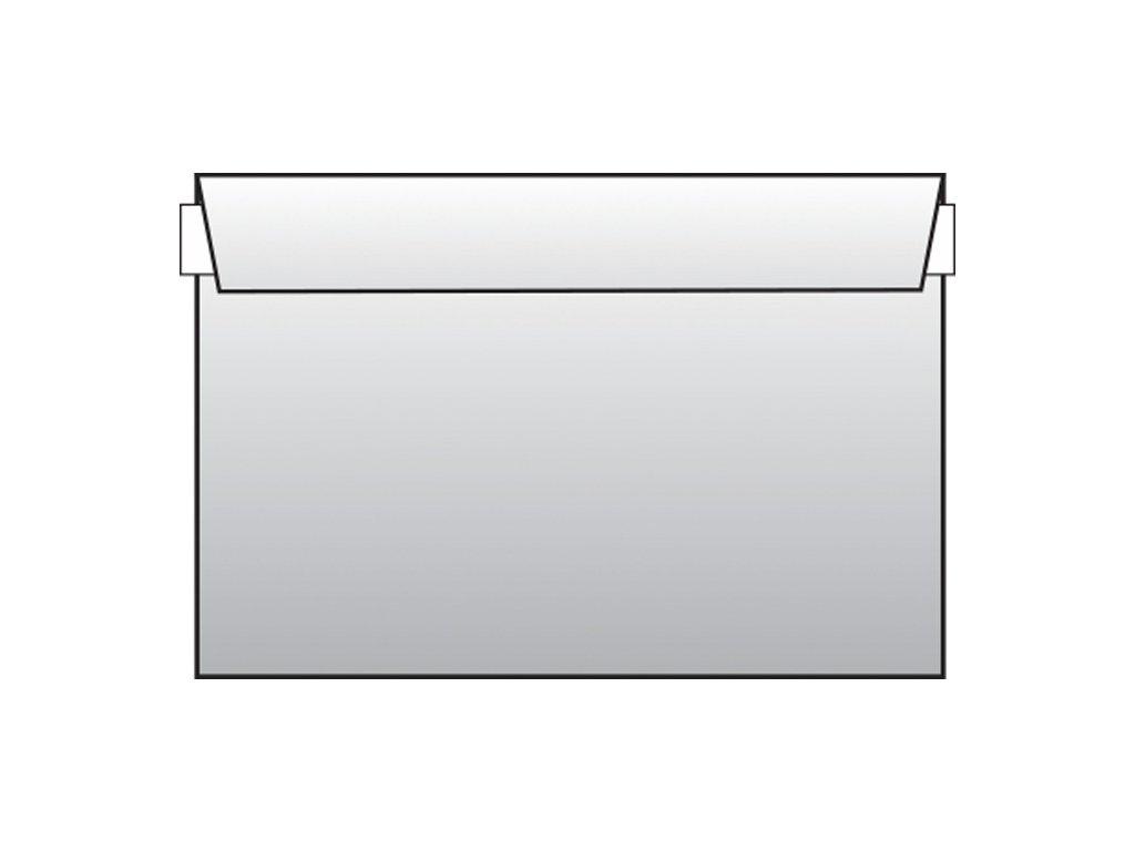 Obálky C6 samolepicí s krycí páskou - bez okénka / 1000 ks