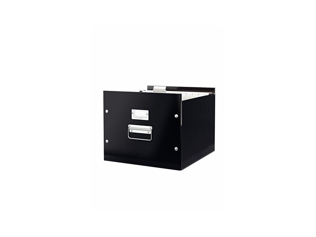 Kolekce krabic Click & Store - krabice na závěsné desky / 35,7 x 28,5 x 36,7