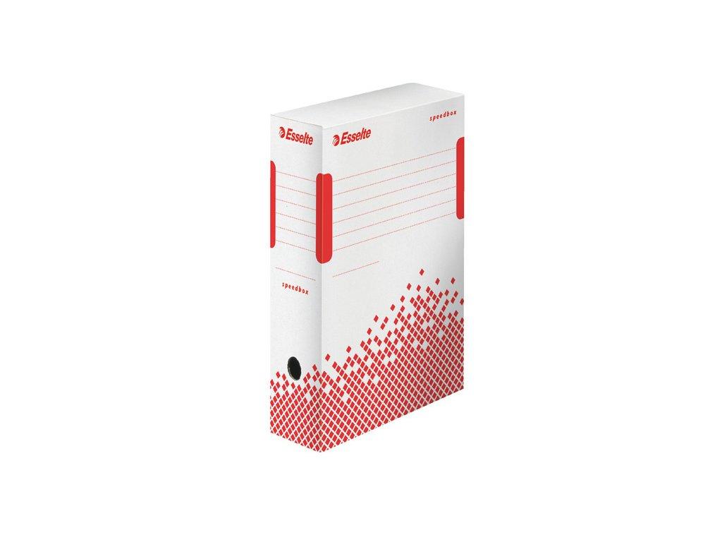 Archivní box Esselte Speedbox - hřbet 10 cm / bílá