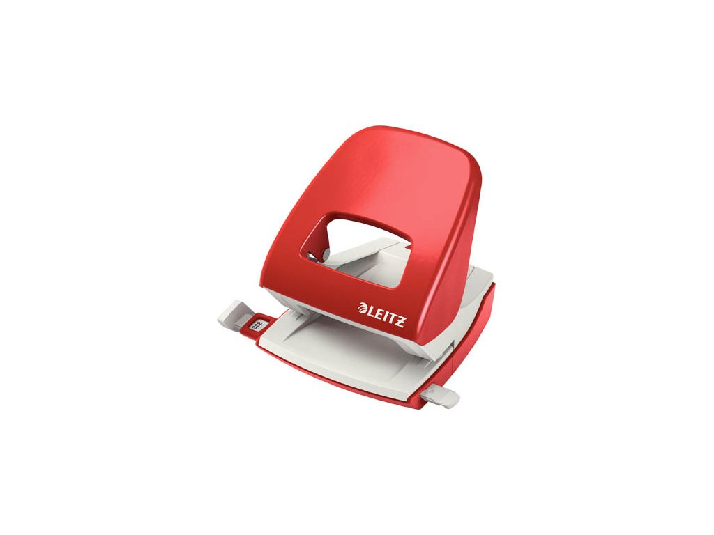Kancelářský děrovač Leitz 5008 - červená