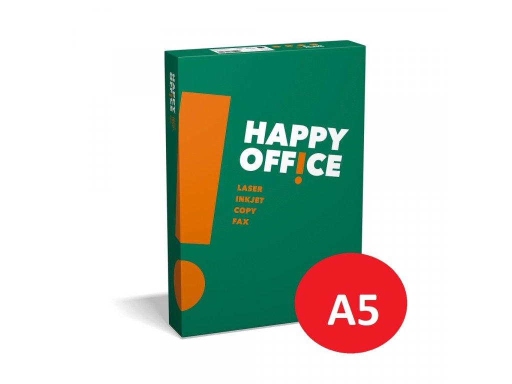 Xerografický papír Happy Office - A5 80 g / 500 listů