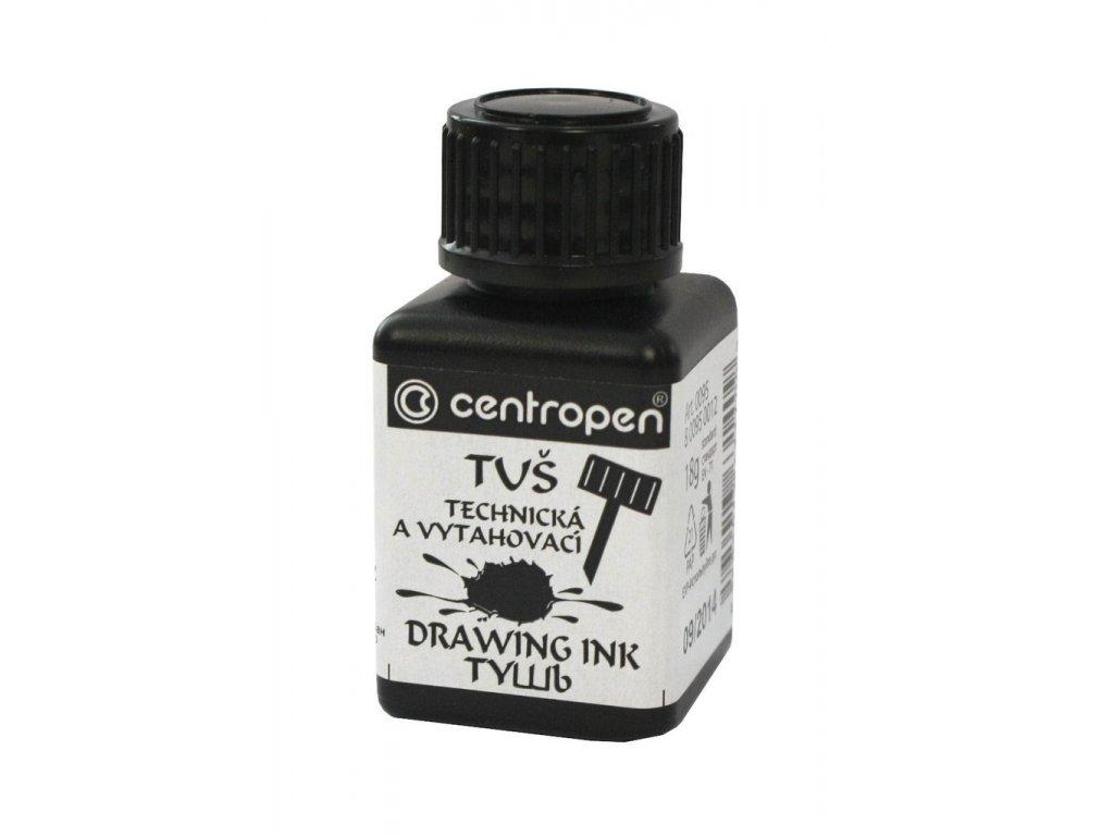 Tuš do technických per Centrograf - černá 18 g / technická