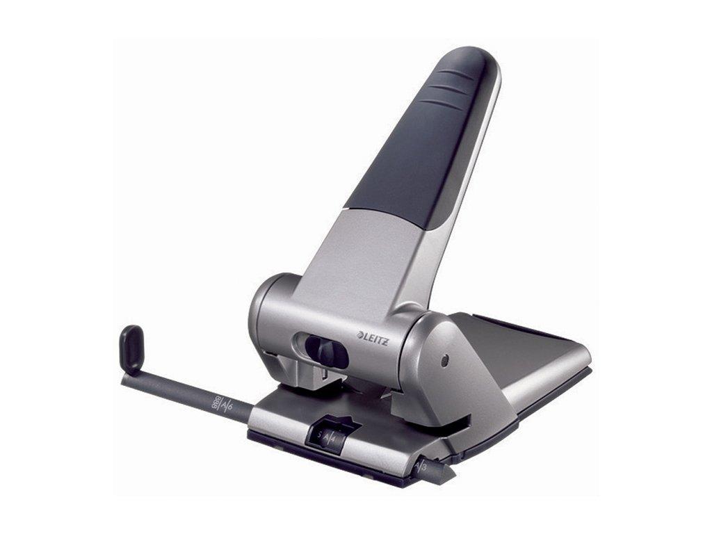Kancelářský děrovač Leitz 5180 - stříbrná