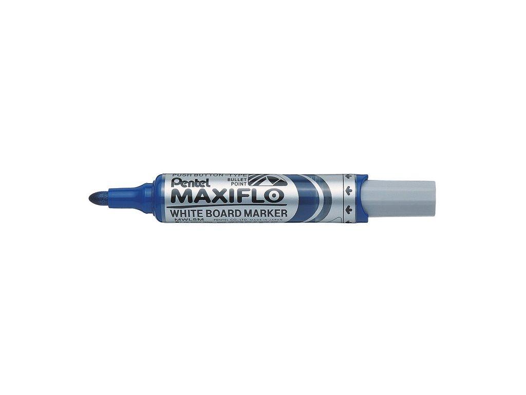 Popisovač Pentel MAXIFLO MWL5M - modrá