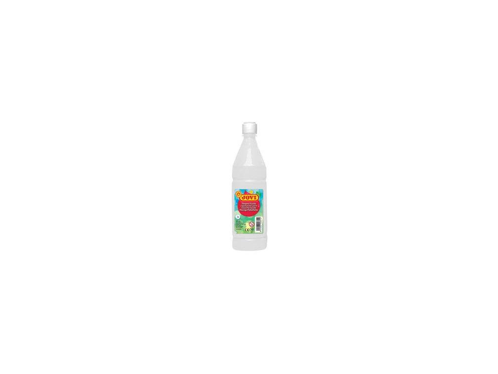 Tekuté temperové barvy JOVI v lahvi - 1000 ml / bílá