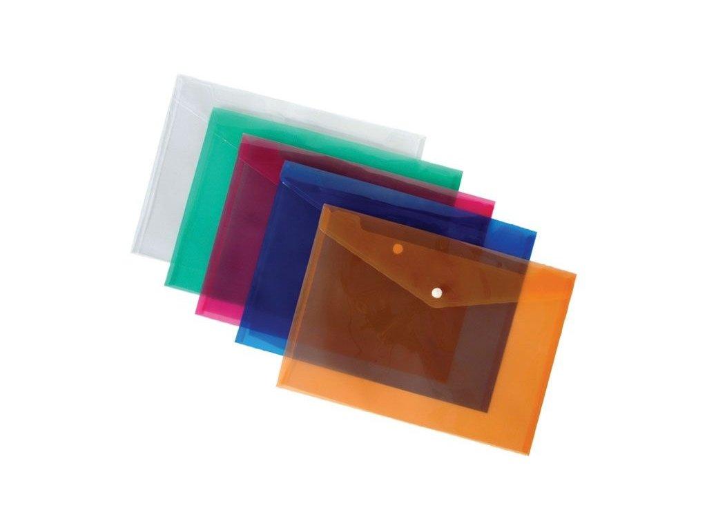 Spisové desky s drukem - A5 / oranžová