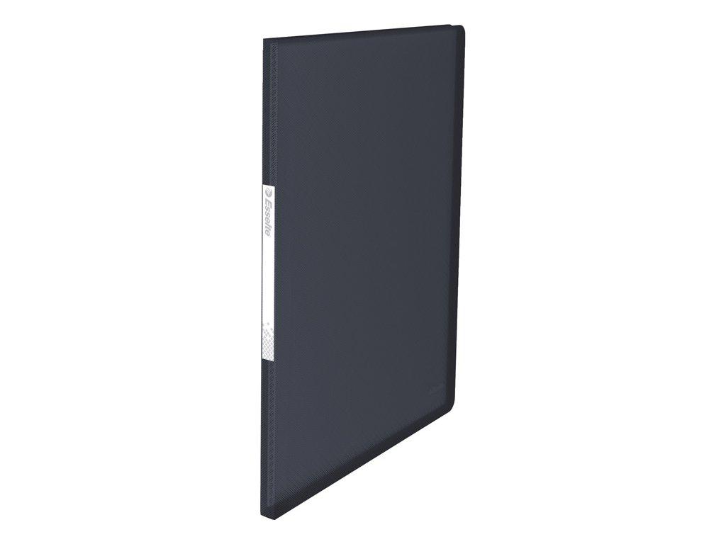 Prezentační desky A4 Vivida - 20 kapes - černá