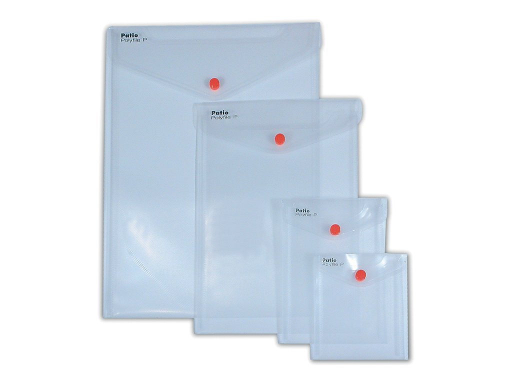 Spisové desky s drukem na výšku - A5 / čirá