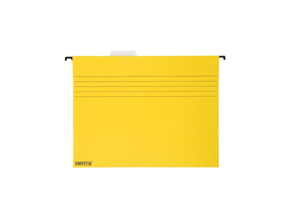 Závěsné desky Centra - žlutá