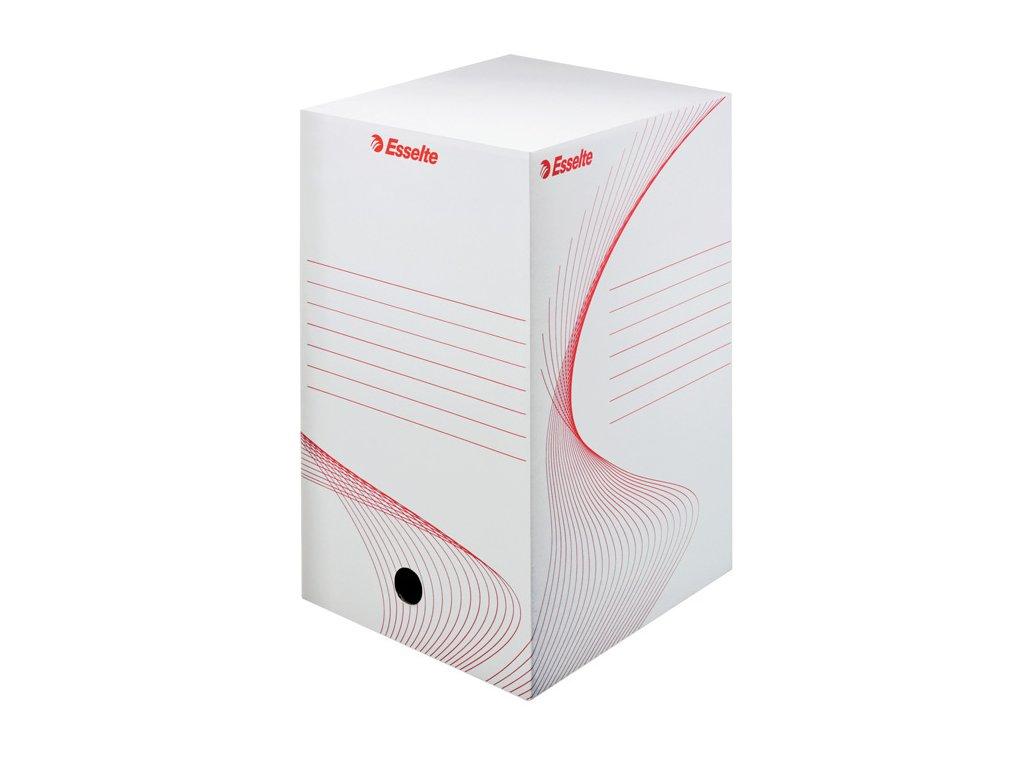 Box archivní A4 Esselte - hřbet 20 cm / bílá