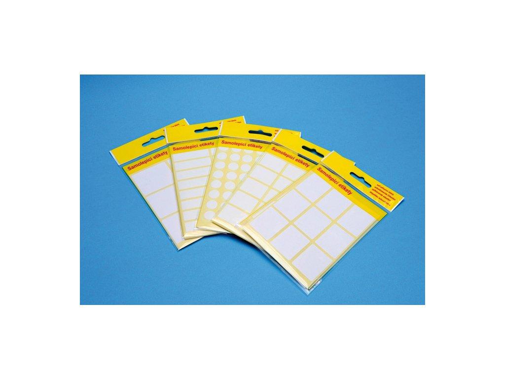Samolepicí etikety v sáčku - 42 x 20 mm / 100 etiket