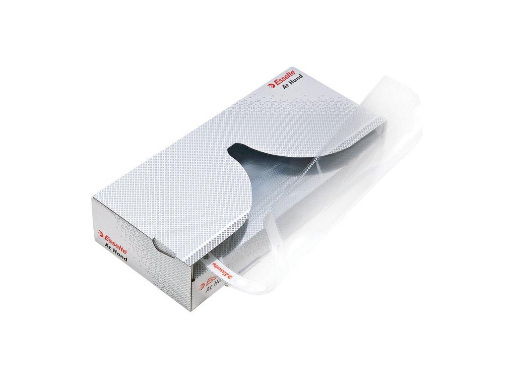 Závěsný obal A4 Esselte v krabičce AT HAND - A4 čirý / 40 ks