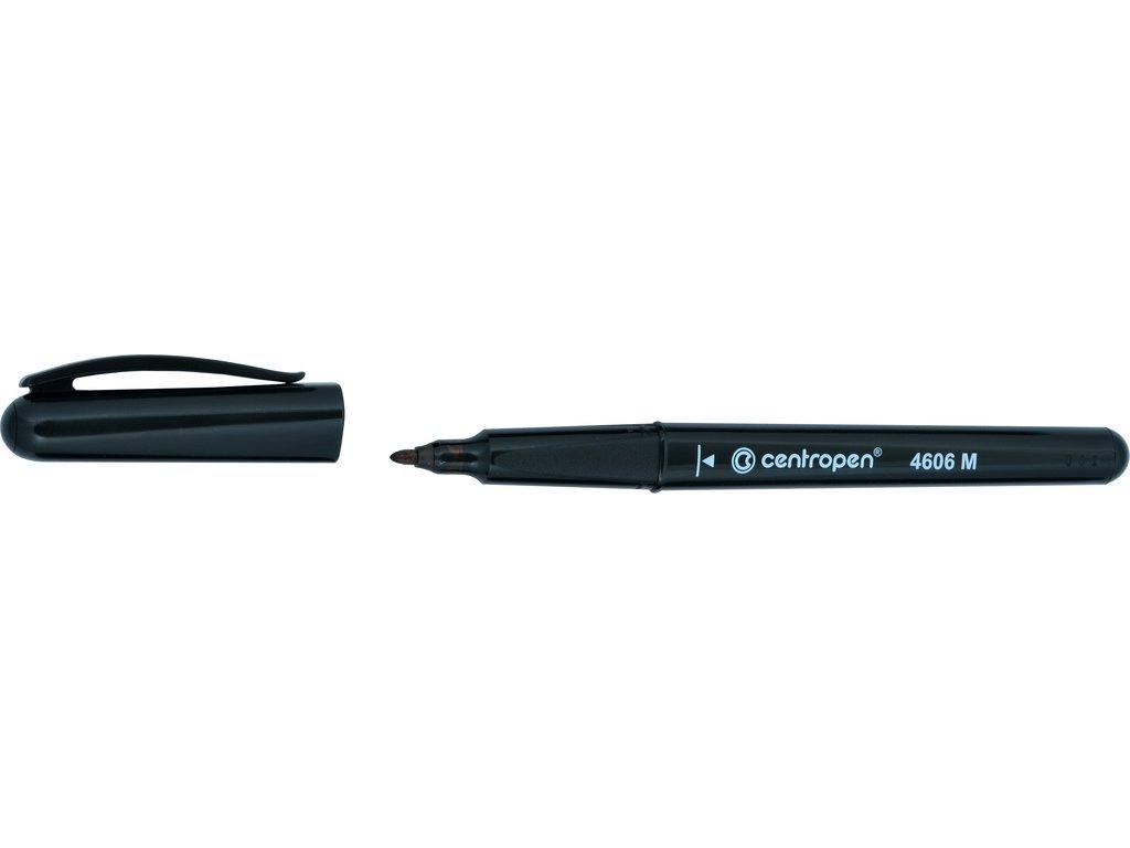Popisovač Centropen CD / DVD / BD 4606 pen - černá