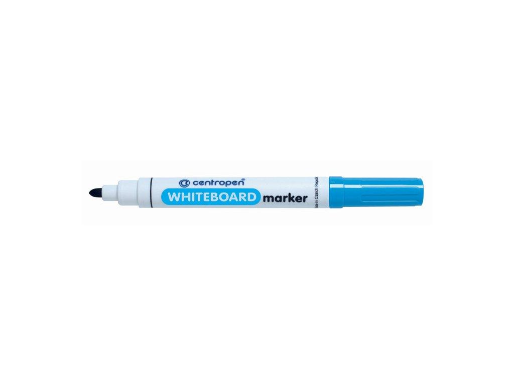 Značkovač Centropen 8559 stíratelný - modrá