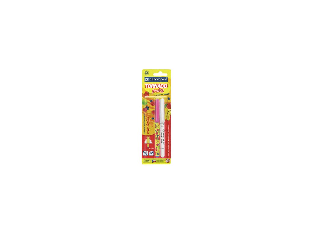 Roller TORNADO Fruity 2675 Centropen - tornádo + zmizík