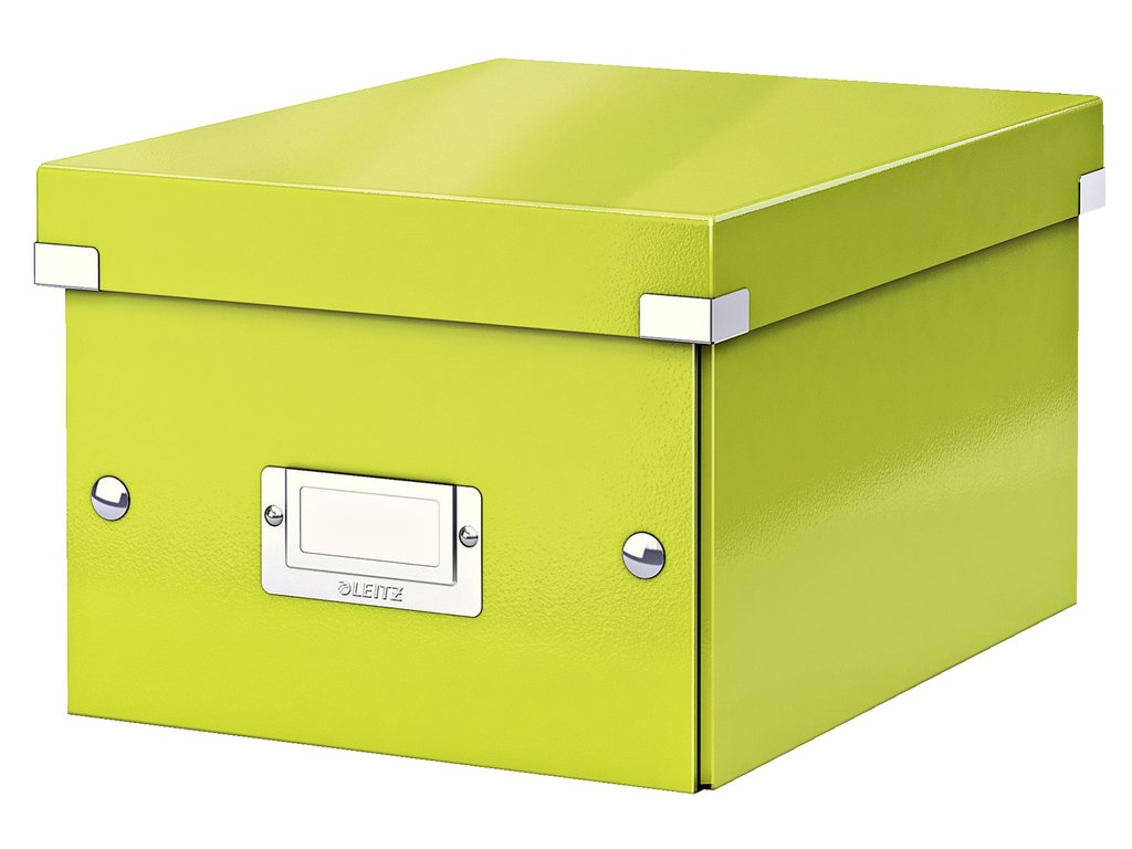 Krabice Leitz Click & Store - S malá / zelená