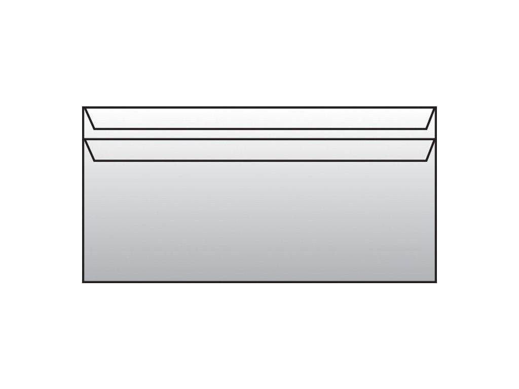 Obálky DL samolepicí - bez okénka / 50 ks