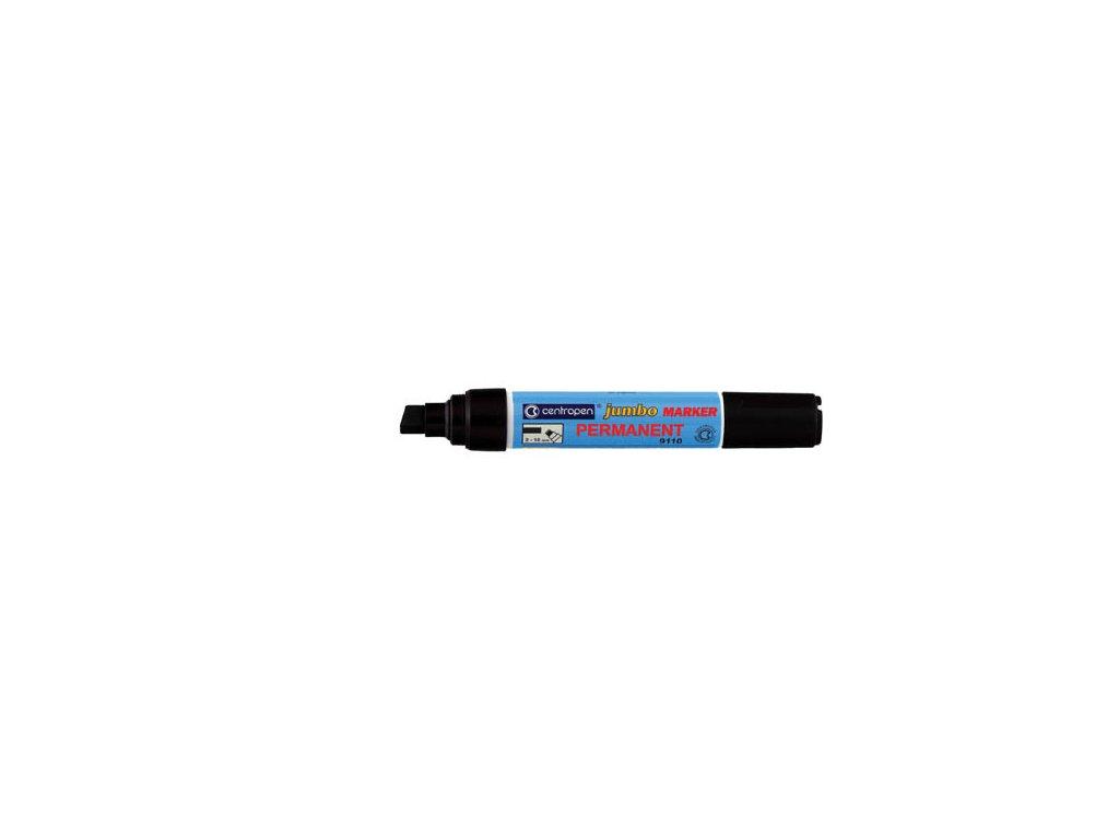Značkovač Centropen 9110 Jumbo permanent - černá