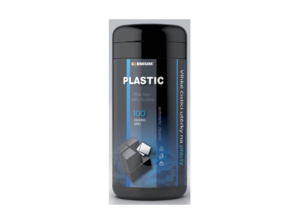 Čistící kapesníky Clenium - 100 ks / na plasty