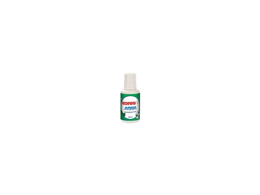 Opravné laky Kores Aqua - 20 ml – štěteček