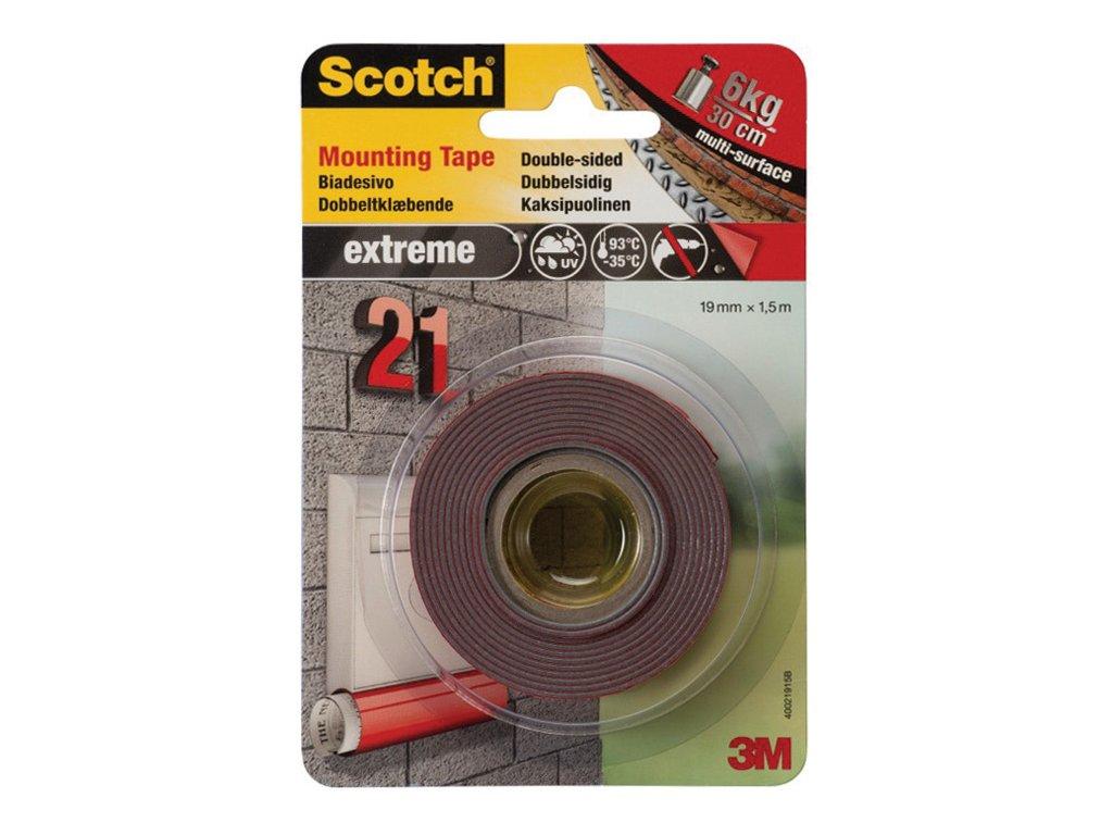 Montážní pásky oboustranné Scotch Fixing Line - 19 mm x 1,5 m ëxtra silná