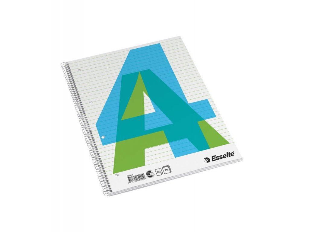 Blok Esselte - A4 / linka / 70 listů