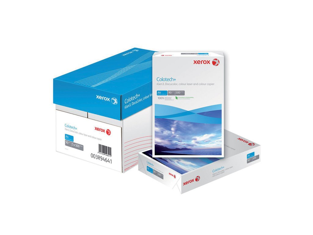 Xerografický papír Colotech + - A4 120 g / 500 listů