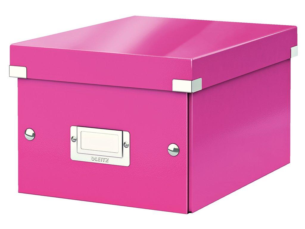 Krabice Leitz Click & Store - S malá / růžová