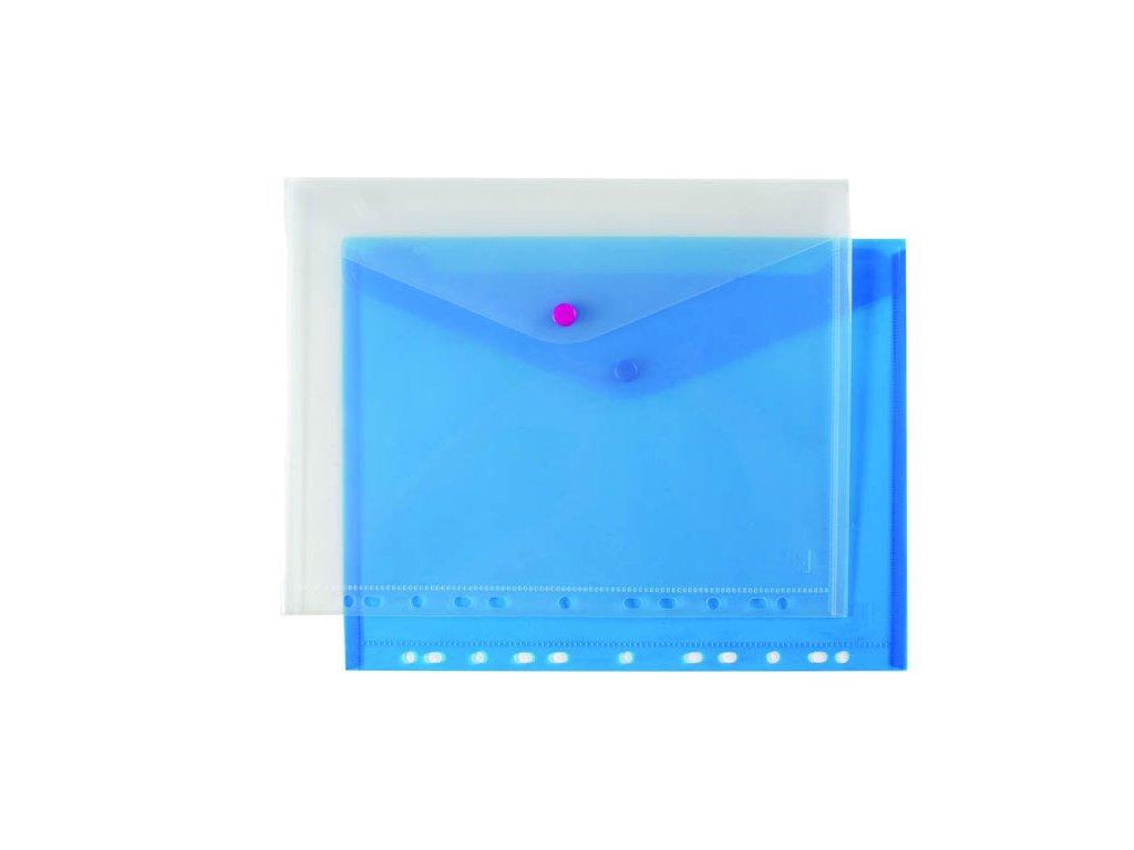 Spisové desky s drukem závěsné - A4 / modrá