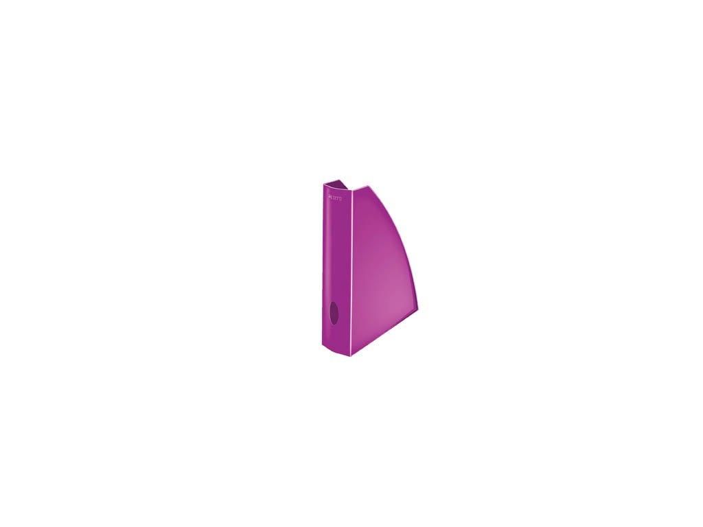 Stojan na spisy Leitz WOW - fialová